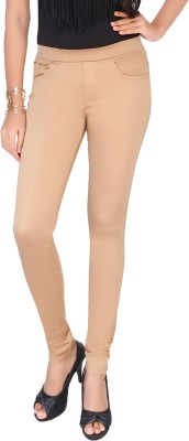 Clench Women's Brown Jeggings