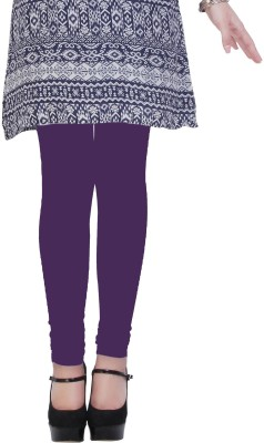 Kimayaa Women's Purple Leggings