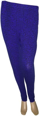 Butterfly Colours Women's Dark Blue Leggings
