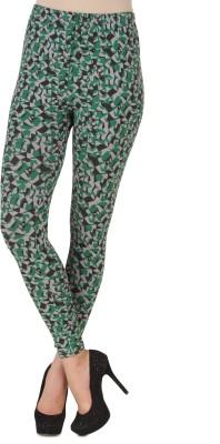 Flur Women's Green Leggings