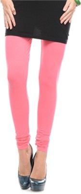 Aarushi Fashion Women's Pink Leggings