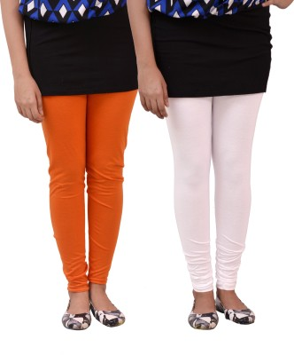 carrol Women's Orange, White Leggings