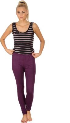 SLS Women's Purple Leggings