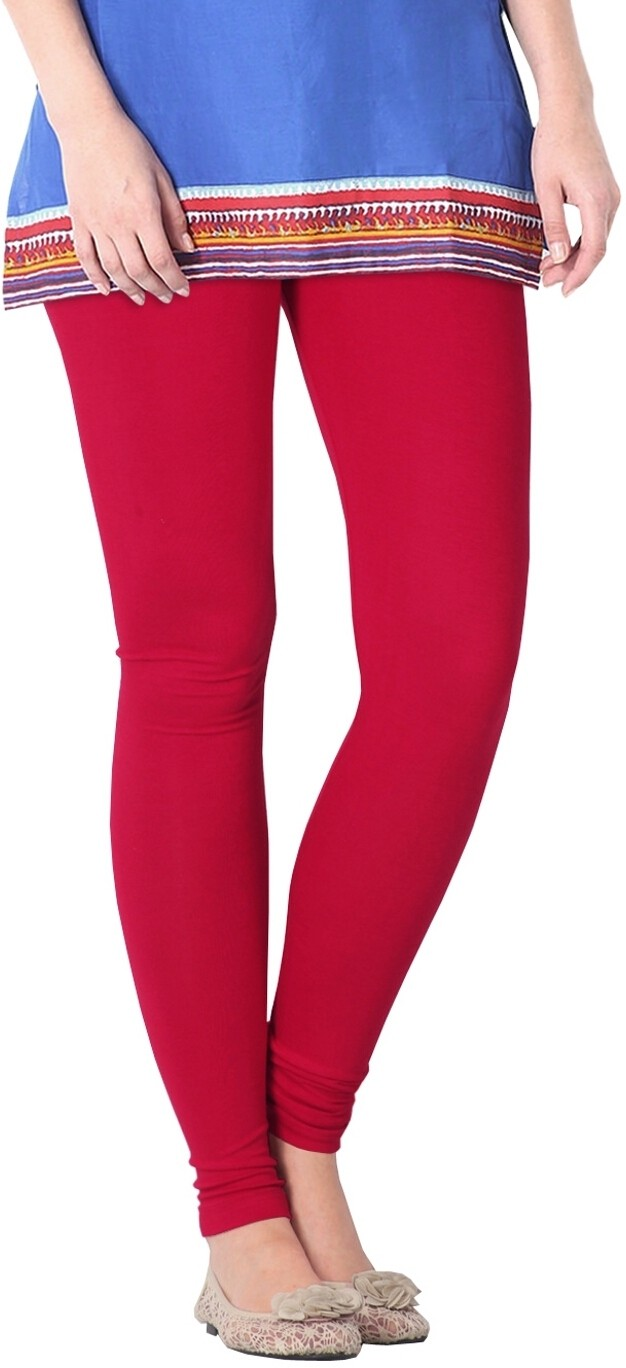 Nice Fit Womens Red Leggings