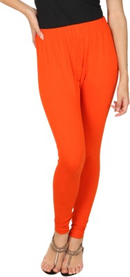 A N, E Women's Orange Leggings