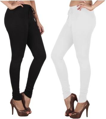 Danbro Women's Black, White Leggings
