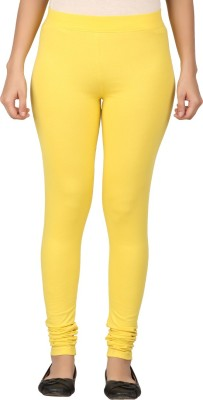 TECOT Women's Yellow Leggings