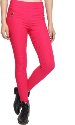 TouchMe Women's Pink Jeggings