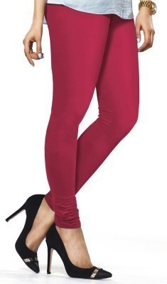 Mahadevi Women's Pink Leggings