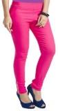 Akaira Women's Pink Jeggings