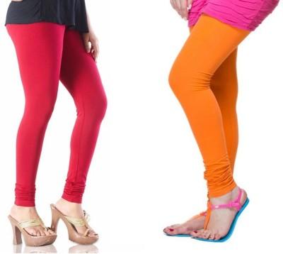 TheEmpire Women's Pink, Orange Leggings