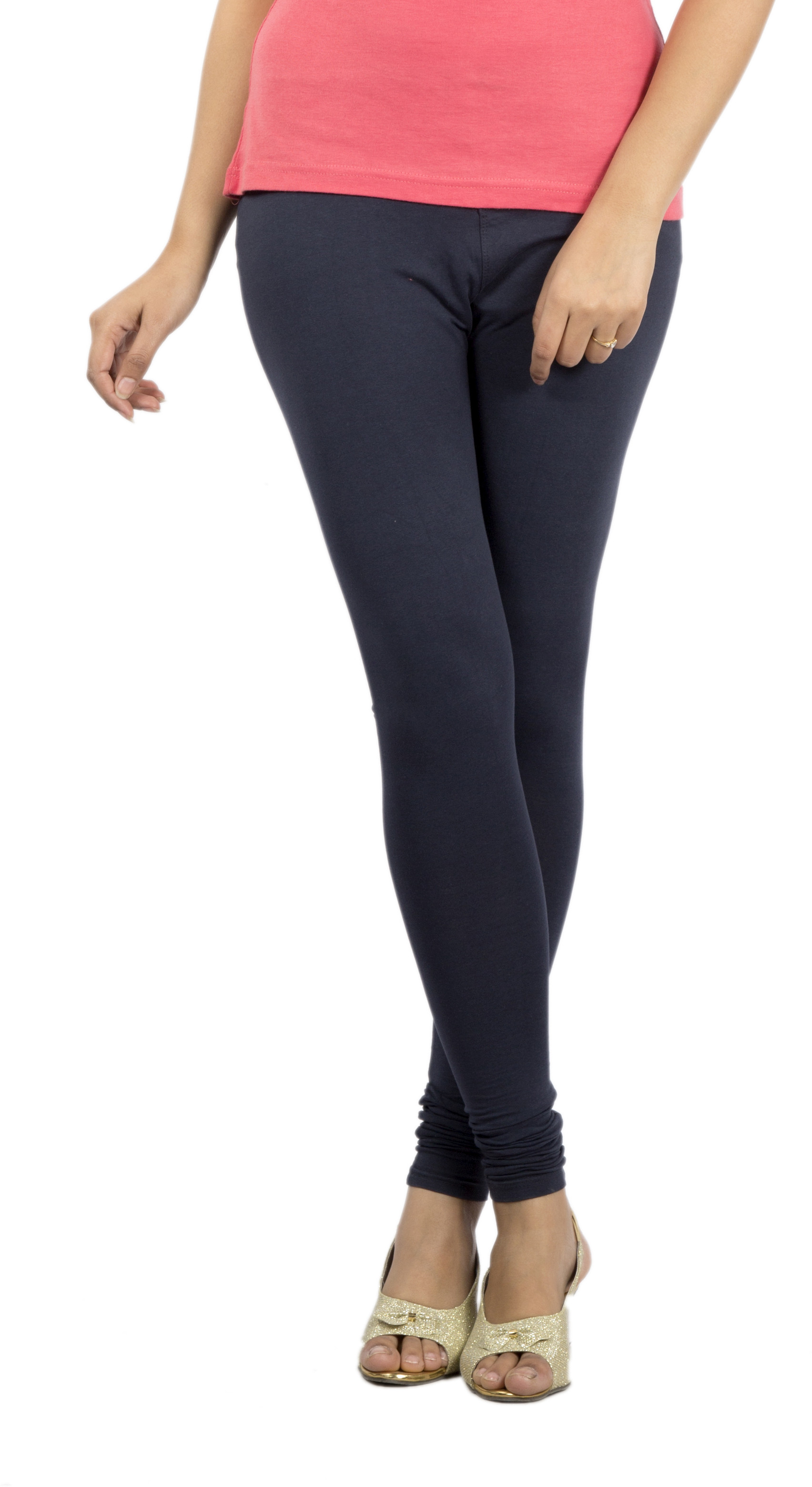 Jublee Womens Dark Blue Leggings