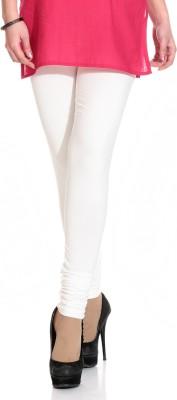 Ahhaaaa Women's White Leggings