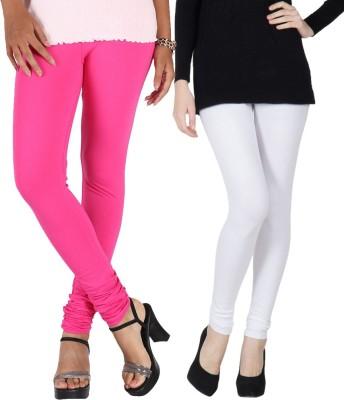 RSR Life Style Women's Pink, White Leggings