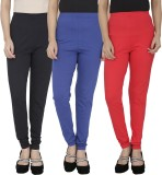 Anekaant Women's Black, Blue, Red Leggin...