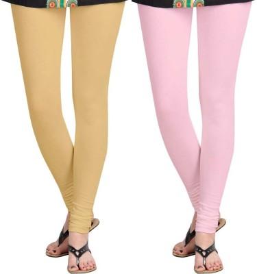 Roshni Creations Women,s Pink, Beige Leggings