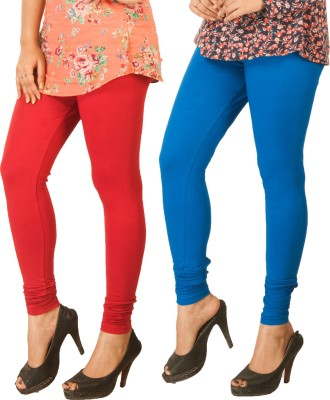 Berries Women's Red, Blue Leggings