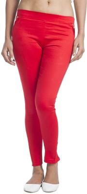 kem Flow Gold Women's Red Jeggings