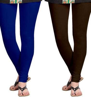 Roshni Creations Women's Blue, Brown Leggings