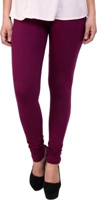 Hashcart Women's Purple Leggings