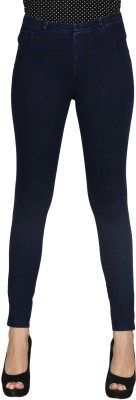Sheenbottoms Women's Blue Leggings