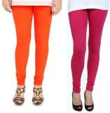 Zacharias Women's Orange, Pink Leggings ...