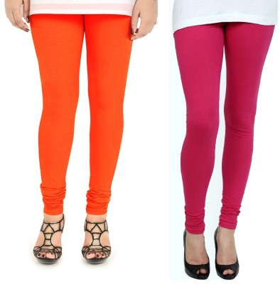 ZACHARIAS Women's Orange, Pink Leggings