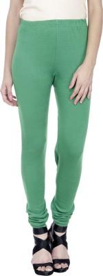 Trendline Women's Green Leggings