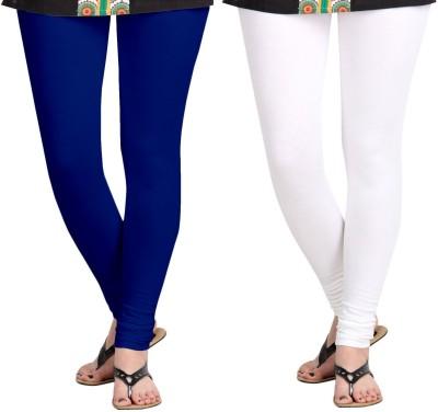 ZACHARIAS Women's Blue, White Leggings
