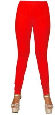 The perfect comfort Women's Red Leggings