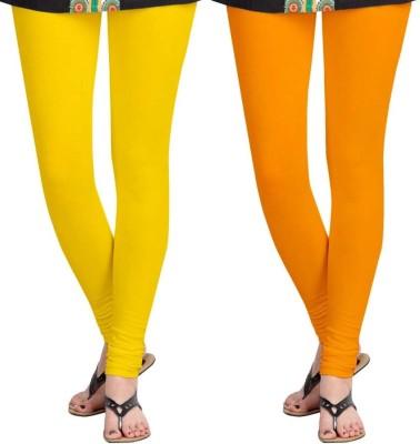 Roshni Creations Women's Yellow, Orange Leggings
