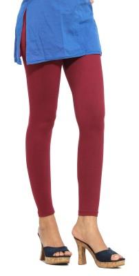 S Vaga Women's Maroon Leggings