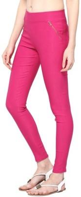 Kyron Women's Pink Jeggings