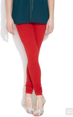 Vita Elegante Women's Red Leggings