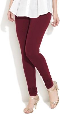 Vita Elegante Women's Maroon Leggings