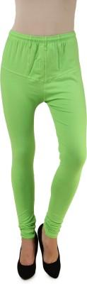 One Femme Women's Light Green Leggings