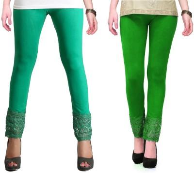 RobinRomeo Women's Green, Green Leggings