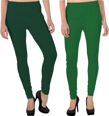 X-Cross Women's Dark Green, Green Leggings