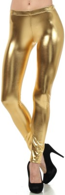 Viba London Women's Gold Leggings
