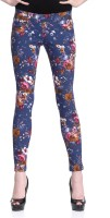 Westwood Women's Multicolor Jeggings best price on Flipkart @ Rs. 899