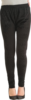 Gudluk Women's Black Leggings