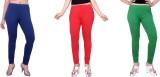 Fck3 Women's Red, Green, Blue Leggings (...