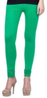 SK Women's Green, Light Blue Leggings