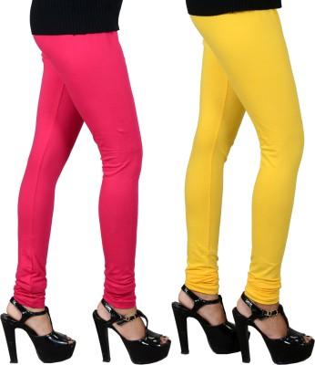 JSA Women's Pink, Yellow Leggings