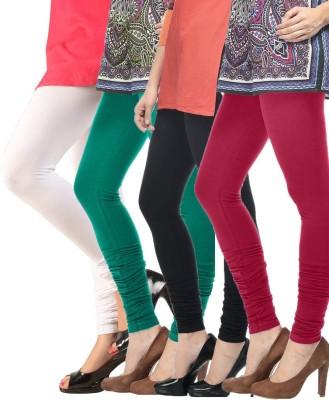 Meril Women,s White, Green, Black, Red Leggings