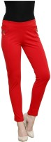 Westwood Women's Red Jeggings best price on Flipkart @ Rs. 999