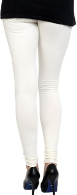 SONI CREATION Women,s White Leggings
