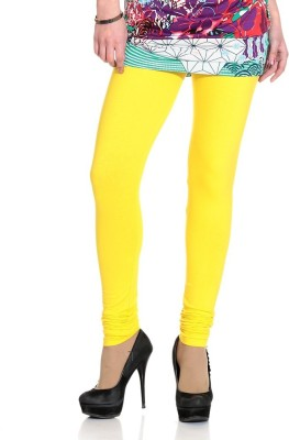 NGT Women's Yellow Leggings at flipkart