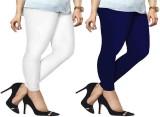 ambey shree trendz Women's White, Blue L...