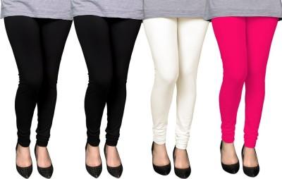 PAMO Women,s Black, Multicolor Leggings